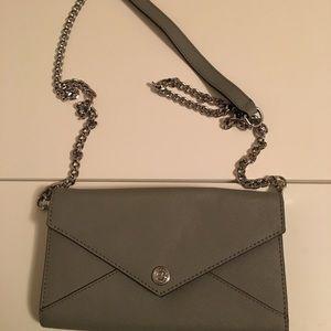 Grey Rebecca Minkoff wallet in on gain